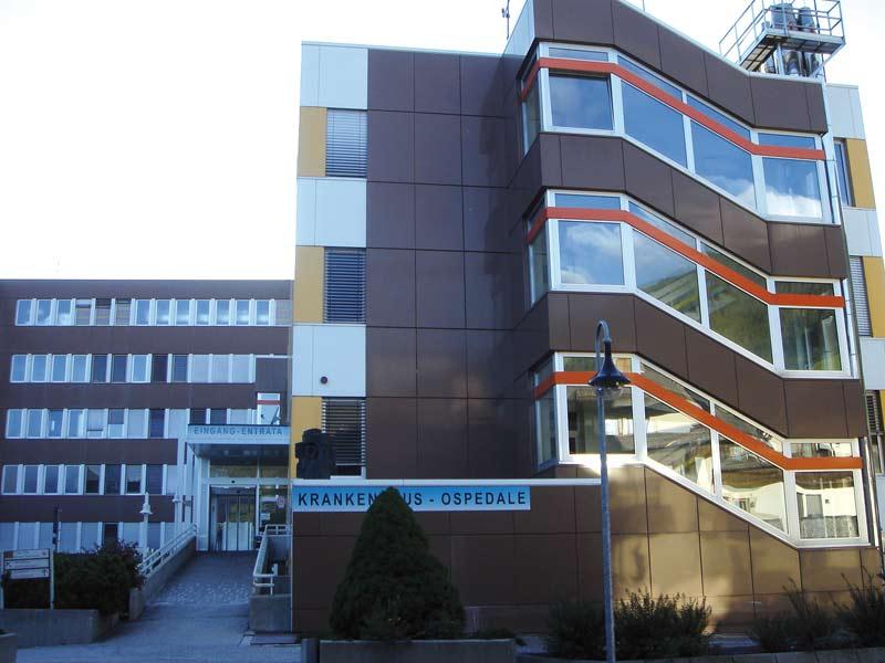 Das Krankenhaus in Innichen