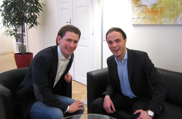 Sebastian Kurz und Philipp Achammer (Foto: Lpa)