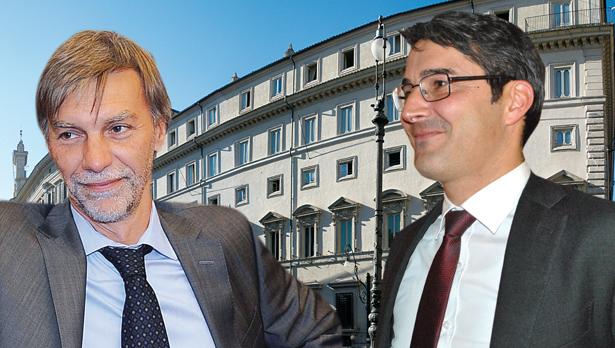 Graziano Delrio und Arno Kompatscher
