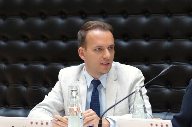 Der Landtagsabgeordnete Sven Knoll