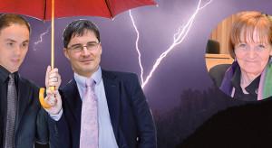 Philipp Achammer, Arno Kompatscher und Martha Stocker