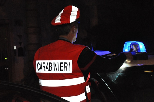 Alk-Kontrolle der Carabinieri