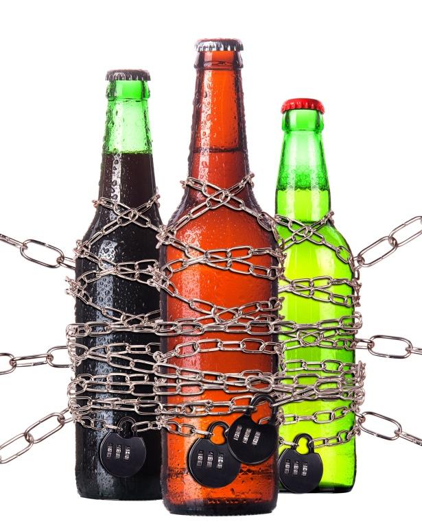 alkohol verbot