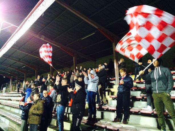 Die FCS-Fans in Bassano (Foto: Hansjörg Kofler)