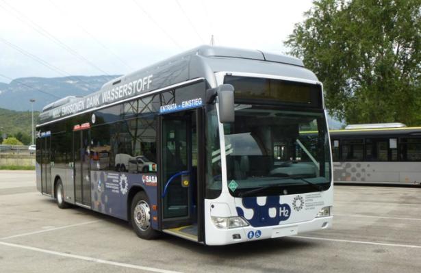Ein Wasserstoff-Bus (Foto: Sta)