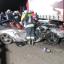 Porsche kracht gegen LKW
