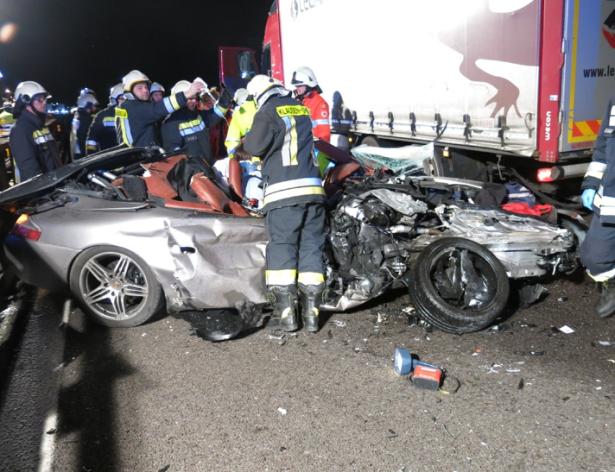 Der Unfall (Foto: FF Klausen)