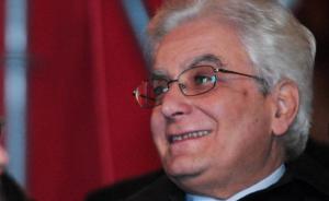 Der neue Staatspräsident Sergio Mattarella (Foto: Adnkronos)