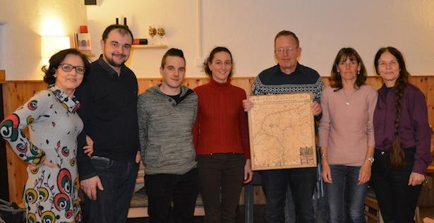 Barbara Klotz, Stefan Zelger, Hannes Innerhofer, Myriam Atz Tammerle, Roland Lang, Heidi Lang und Eva Klotz