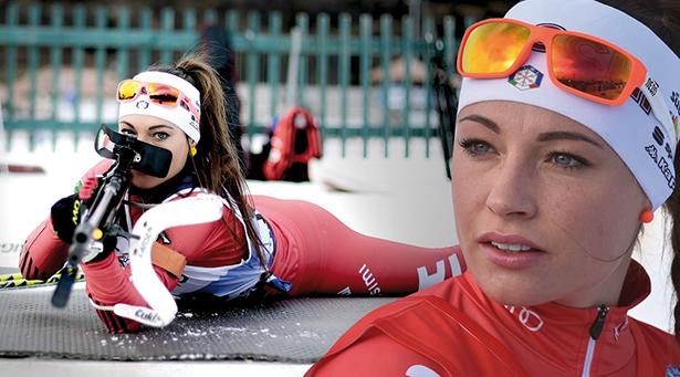 Dorothea Wierer (Fotos: Federico Modica)