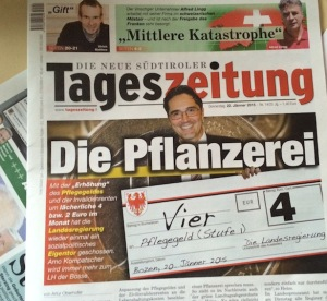 Das Tageszeitung-Cover