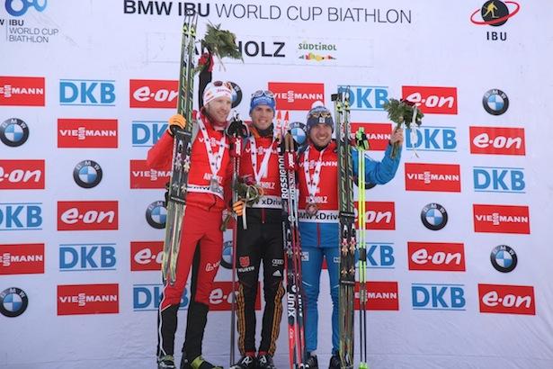 Simon Eder, Simon Schemp und Evgeniy Garanichev