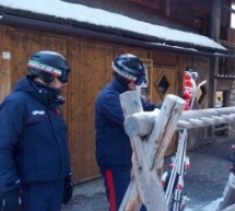 Ski-Diebe in Corvara