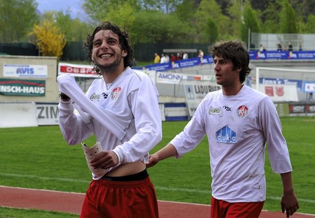 Walter Zullo (l.) mit Manuel Scavone