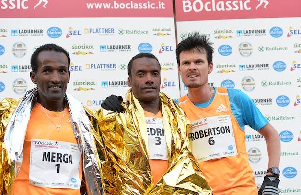 Die drei Erstplatzierten (Foto: Mosna)