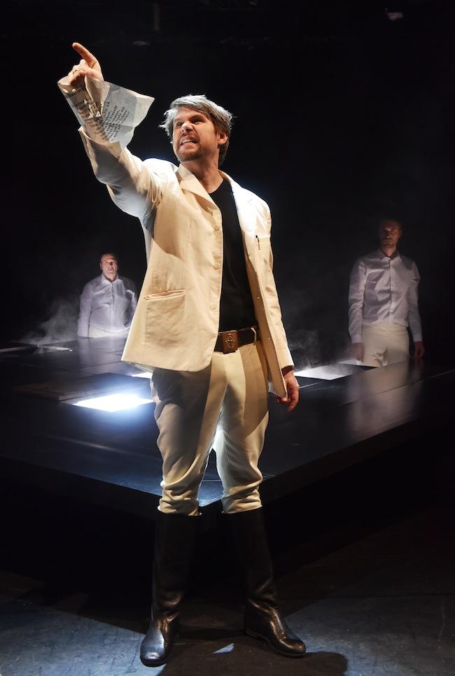 Florian Eisner: Etwas mehr Salz in der Theatersuppe wäre nicht schlecht gewesen. (Foto: Bernhard Eichner)