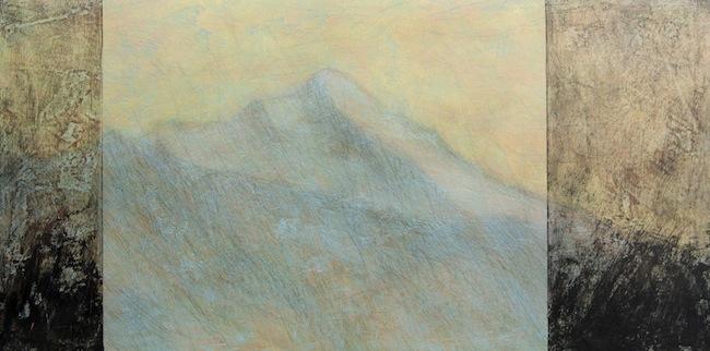 Malerei von Markus Moling: Atmosphäre der Stille und der Ruhe