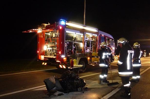 Niedervintl Unfall Foto www.unsertirol24.com -Foto 2