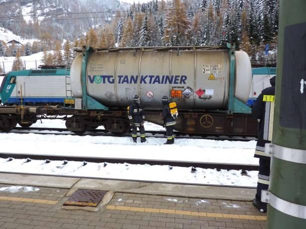 Gefahrguteinsatz am Brenner (Archivbild)