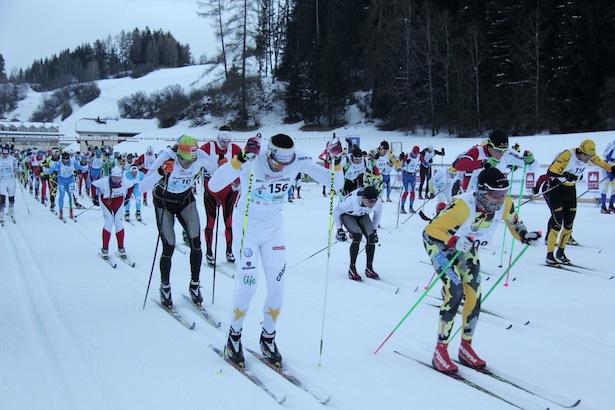 Archivbild des Pustertaler Skimarathons