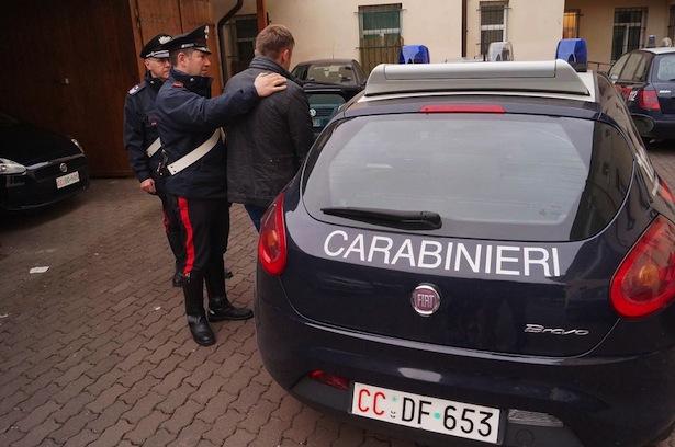 Arresto CC Bressanone