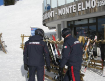 Dreister Ski-Dieb