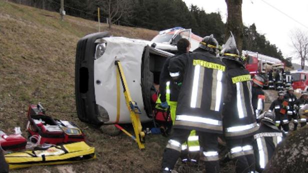 Der Unfall (Foto: FF Niedervintl)