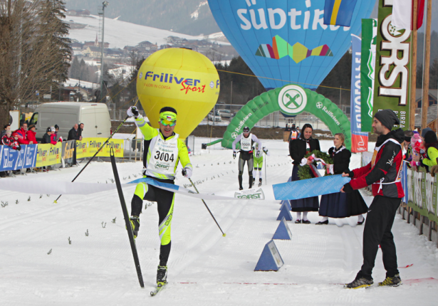 Petr Novaks Zieleinlauf (Alle Fotos: Newspower)