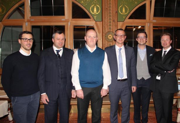 Florian Siebenförcher, Walter Nocker, Günther Windegger, Andreas Moser, David Recla, Helmuth Senfter (v.l.n.r.)