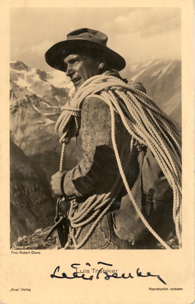 Luis Trenker: Wie glaubwürdig ist Trenkers Erzählung aus dem Jahre 1931? (Foto: Archiv Deutscher Alpenverein, cinema.de)