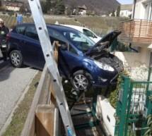 Crash in Kurtatsch