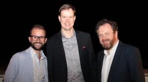 Giorgio Bergamo, Martin Haller und Gert Lanz