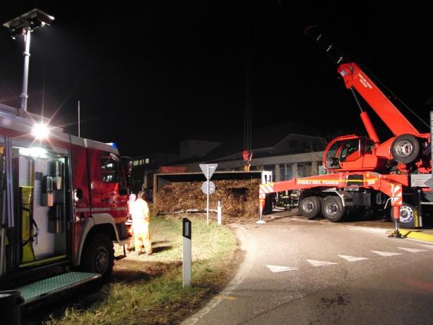 Der Unfall (Fotos: Jürgen Geier)