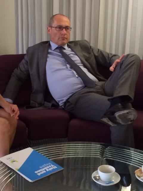 Regionenpräsident Ugo Rossi