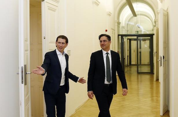 Minister Kurz und LH Kompatscher (Archivbild)