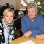 Magdalena Amhof und Oswald Schiefer