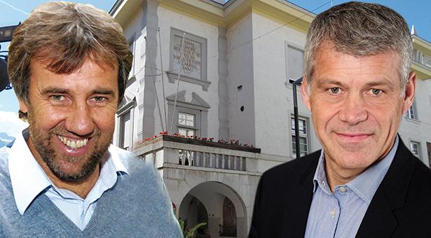 Paul Rösch und Gerhard Gruber