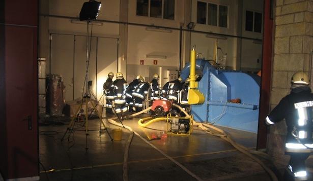 Der Einsatz im W-Werk (Fotos: FF Mühlen in Taufers)