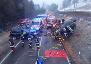 Der Unfall (Foto: FF Welsberg)