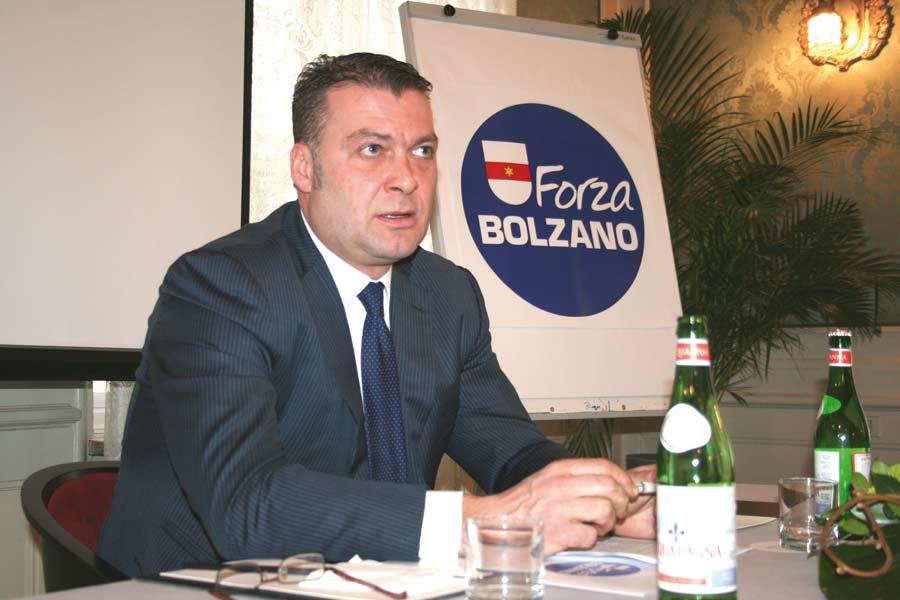 Robert Oberrauch als BM-Kandidat vor fünf Jahren
