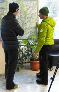 Armin Senoner mit Olaf Reinstadler