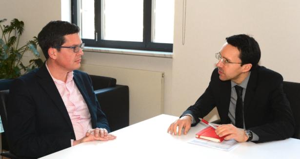 Heiner Schweigkofler und Christian Tommasini