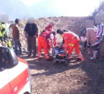 Motocross-Unfall im Safetypark