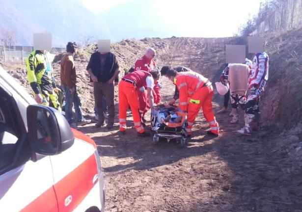 Der Unfall im Safetypark (Foto: goinfo.it)