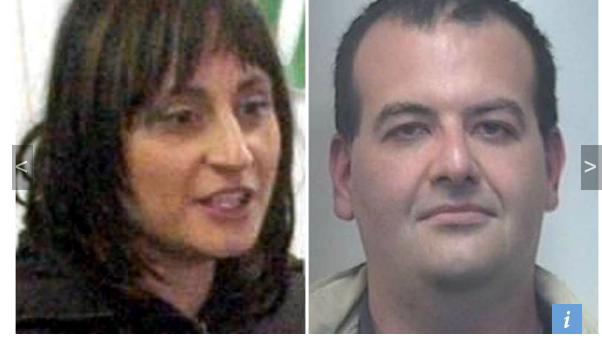 Das Opfer und der Täter: Carmela Morlino und Marco Quarta (Alle Fotos: L'Adige)