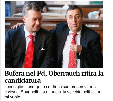 Der Bericht der Online-Ausgabe des Alto Adige