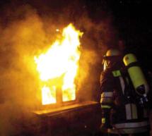 Brand in der Küche