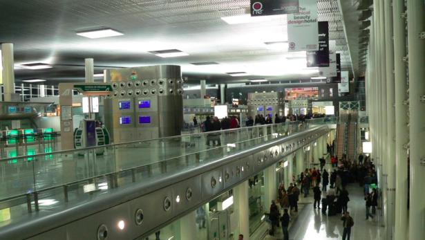 Der Flughafen von Catania
