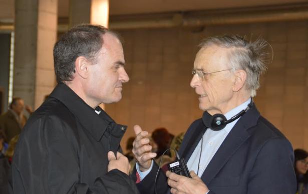 Der Bischof mit Paul Zulehner