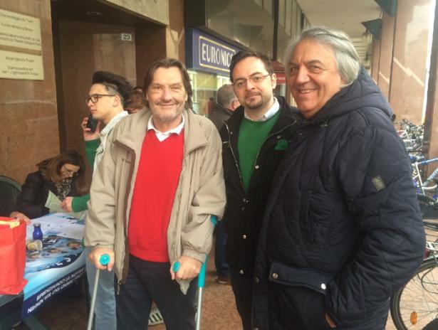 Dado Duzzi mit Luciano Giovanelli (Foto: goinfo)
